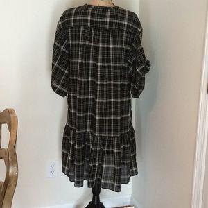 GAP Dresses - Gap plaid dress size XL